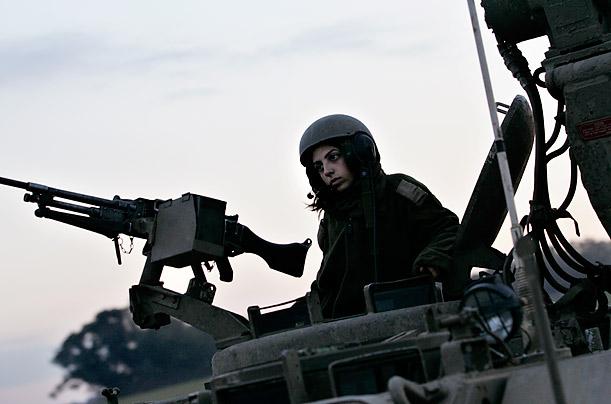 Израильские девушки военные самые