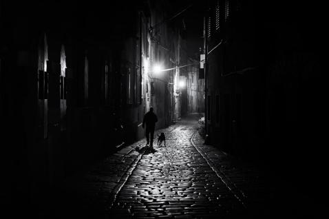 Street Noir by András Sümegi